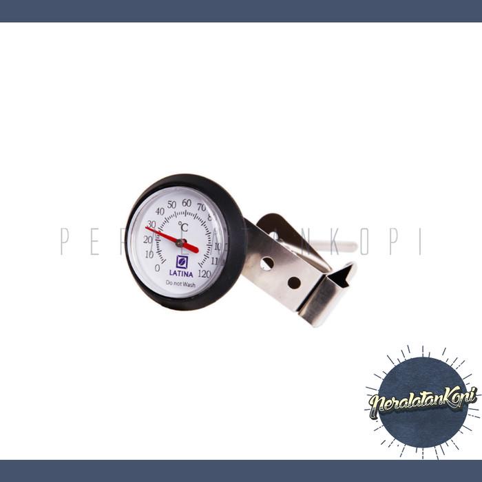harga Termometer kopi latina / analog coffee thermometer clip air waterproof Tokopedia.com