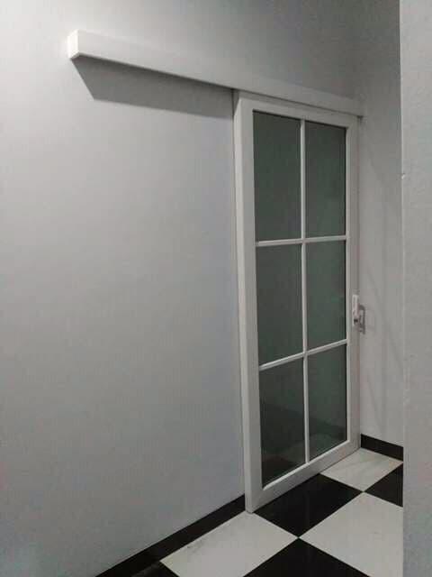 Jual Pintu Single Sliding UPVC Rel Gantung - Jakarta Barat ...