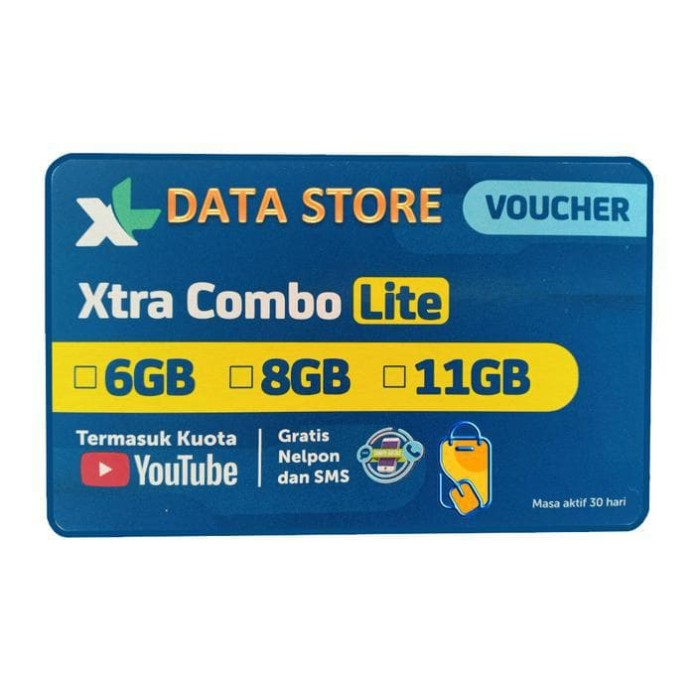 Jual Voucher XL Data Combo Lite 6 GB - Kota Tangerang