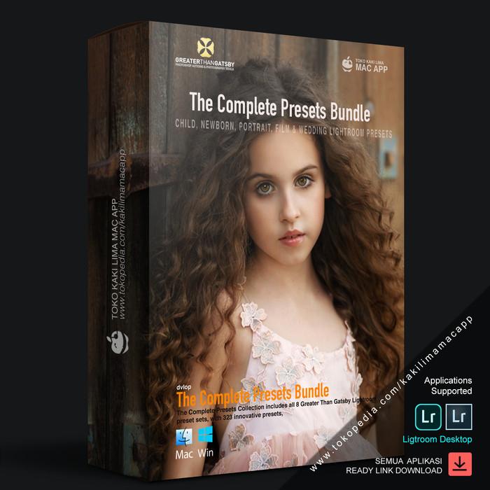 Jual Greater Than Gatsby - The Complete Preset Bundle - Kota Gorontalo -  Kaki Lima Mac App   Tokopedia