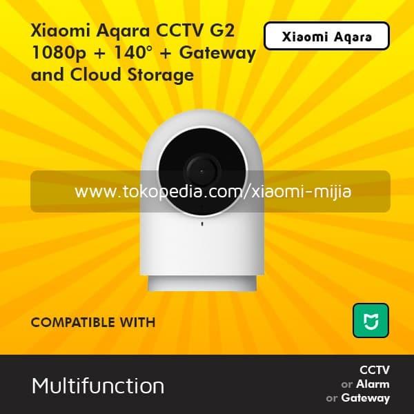 Xiaomi Aqara IP Camera G2 Gateway 140 wide CCTV 1080P HD Night Vision