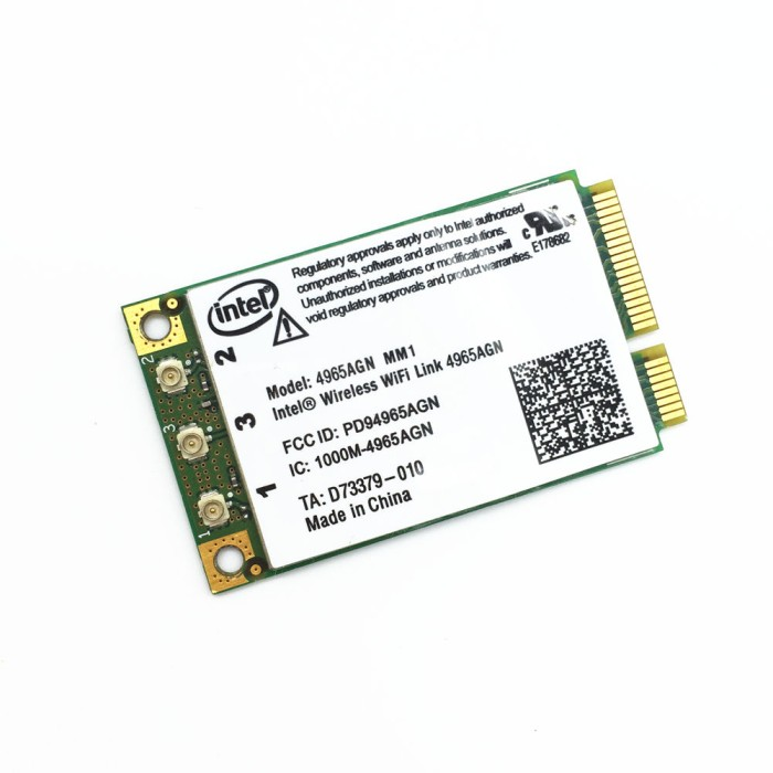 INTEL 4965AGN WIRELESS-N MINI-CARD DRIVERS UPDATE