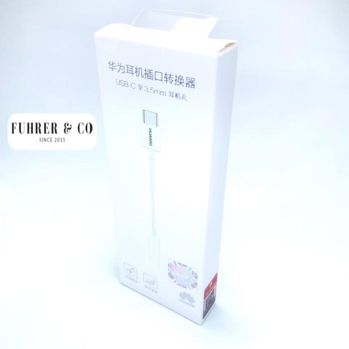 Foto Produk Huawei Converter Type C To 3.5 Mm Headset Earphone Jack Ada dari Fuhrer Shop