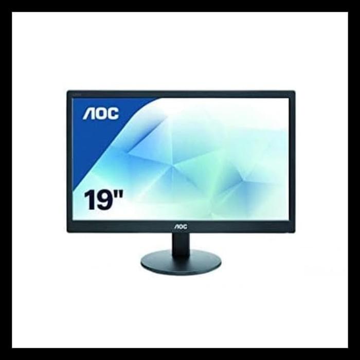 Foto Produk Barang Baru Monitor 18,5 Inch Aoc E970Swnl Murah Surabaya Spesial dari Ciindy acc
