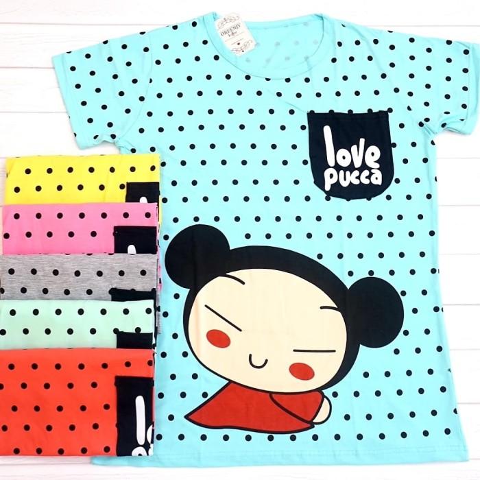 harga Kaos jumbo pucca polkadot xxxl oreenjy cupcake Tokopedia.com