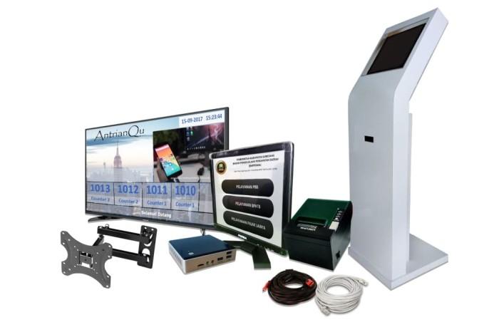 Foto Produk Harga Mesin Antrian Kantor Pajak SIAP PAKAI...!!! - Paket 2 dari Pradana Komputer