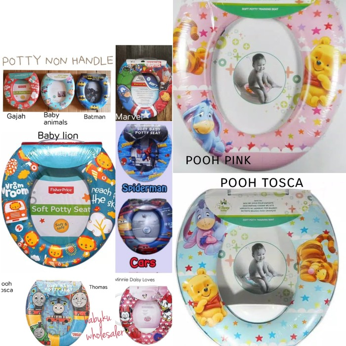 ring closet anak / dudukan toilet anak / potty training seat