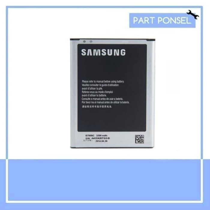 harga Baterai handphone samsung galaxy mega 6.3 i9200 batre hp battery Tokopedia.com