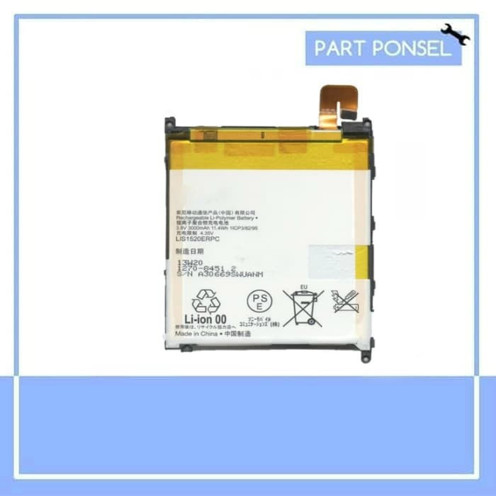harga Baterai handphone sony xperia z ultra c6802 xl39zh batre hp battery