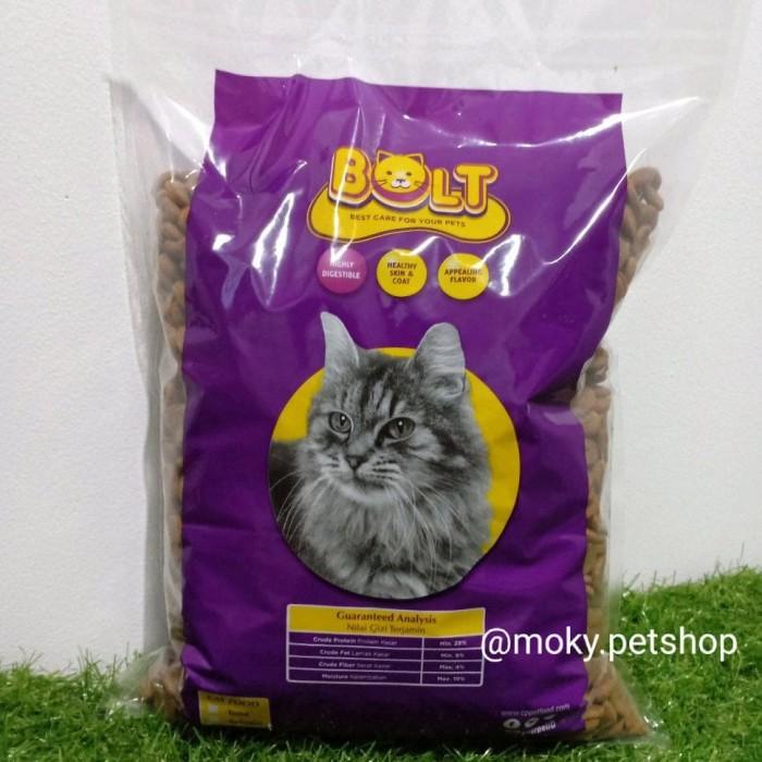 Jual Makanan Kucing Bolt 1kg Repack Jakarta Barat Natha Online