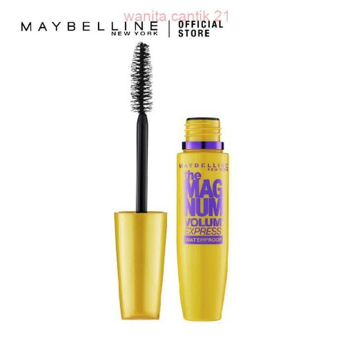 Maybelline The Magnum Volum Express Waterproof Mascara Hitam