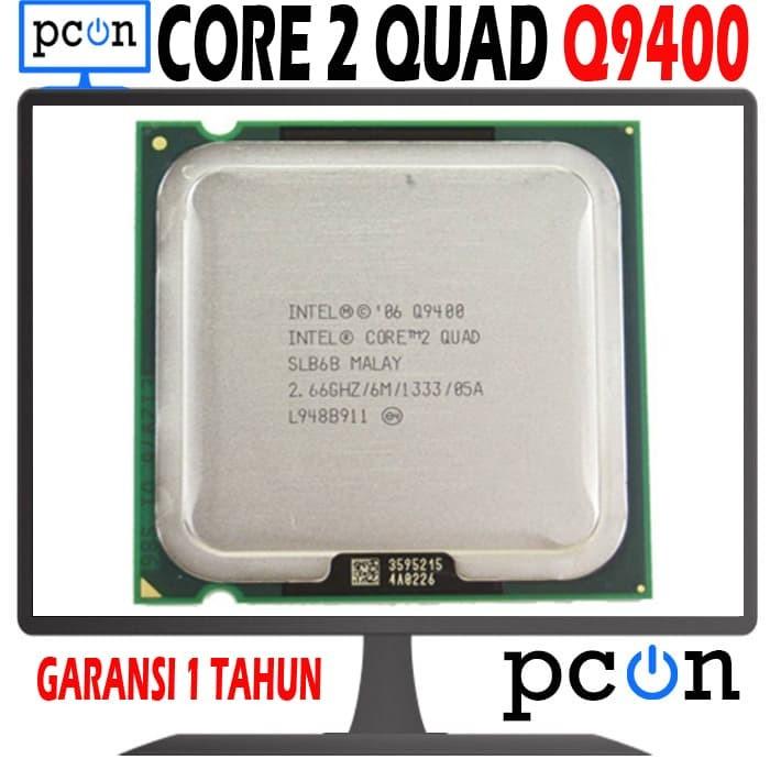 Foto Produk PROCESSOR INTEL CORE 2 QUAD Q9400 dari PC ON COMPUTER