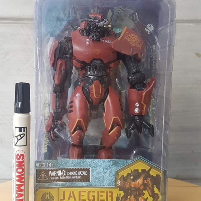 NECA PACIFIC RIM JAEGER ANCHORAGE ATTACK GIPSY DANGER LOOSE FIGURE COMPLETE