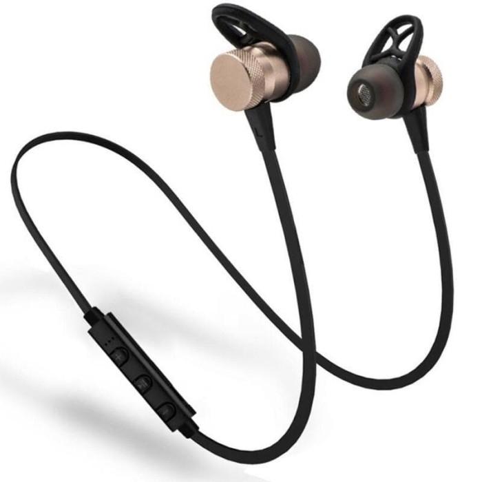 harga Farfi sport bluetooth headphone wireless headset magnetic bottom earbu Tokopedia.com