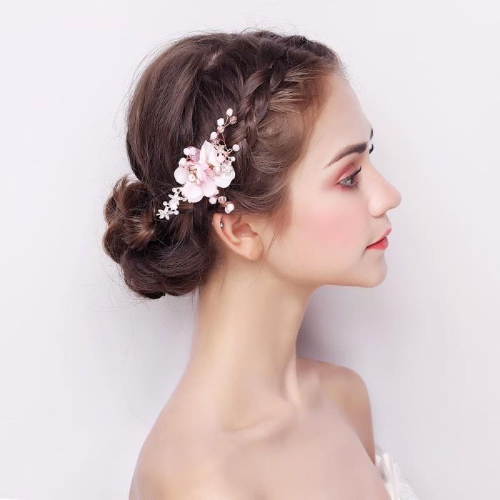 Jual SS098 - Bride Wedding Hair / Hairpiece