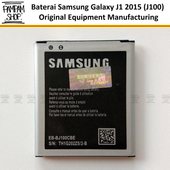 harga Baterai handphone samsung galaxy j1 2015 j100 original   batre sein Tokopedia.com
