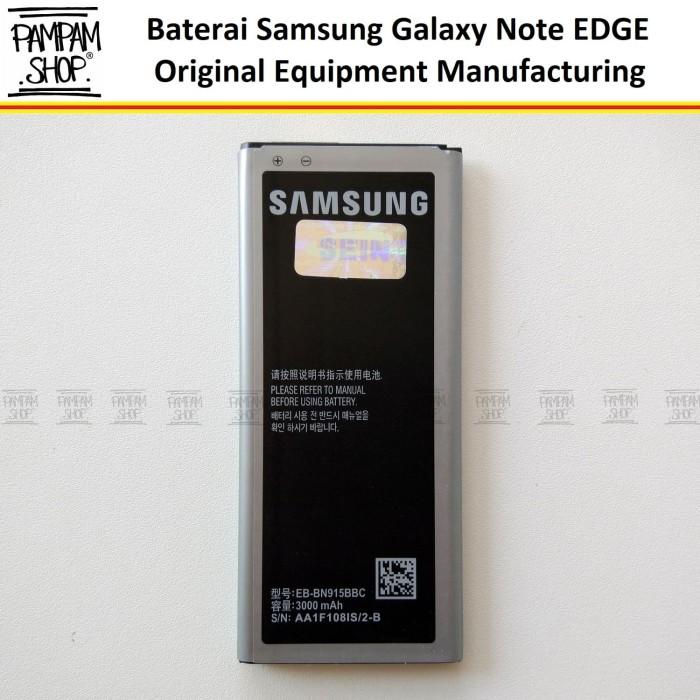 harga Baterai handphone samsung galaxy note 4 edge n9150 original | battery Tokopedia.com