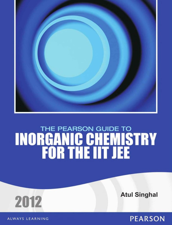 INORGANIC CHEMISTRY FOR THE IIT JEE by SINGHAL (2012)