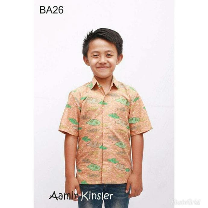 Jual Model Baju Batik Anak Baju Batik Anak Usia 2 Tahun Kemeja Anak Lucu Jakarta Barat Jayaabadi1102 Tokopedia