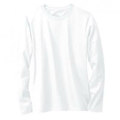 Jual Kaos Polos Oneck Kaos Polos Pria Wanita Lengan Panjang Warna Putih Putih S Kota Depok Bengkulu Stor Tokopedia