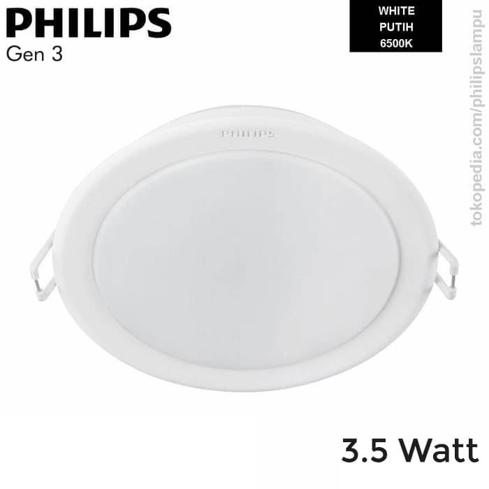 Foto Produk Lampu Downlight LED Philips 3,5W 59441 Meson Gen 3 Putih White 3,5 W - Putih dari philipslampu