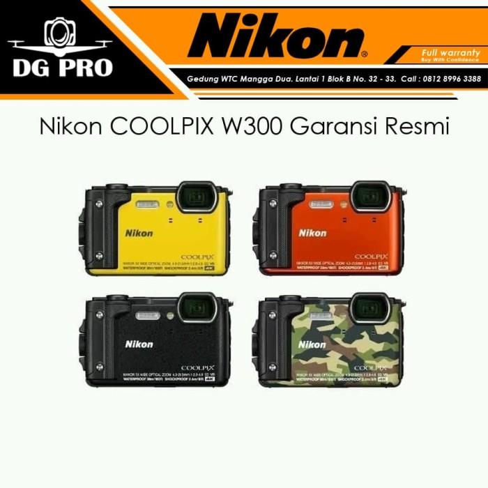 Foto Produk Nikon COOLPIX W300 Garansi Resmi - Kamera Nikon W-300 dari DG PRO