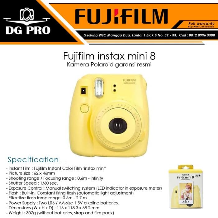 harga Fujifilm instax mini 8 - kamera polaroid garansi resmi Tokopedia.com