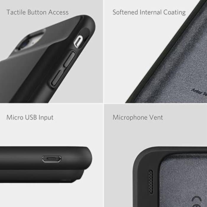 san francisco a51f5 9f079 Jual Anker PowerCore iPhone 7 Wireless Battery Case 2750 Black A1408 - DKI  Jakarta - Anker Indonesia - OS | Tokopedia