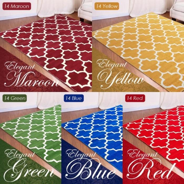 harga Karpet maroc 14 warna 100x150 - maroon Tokopedia.com
