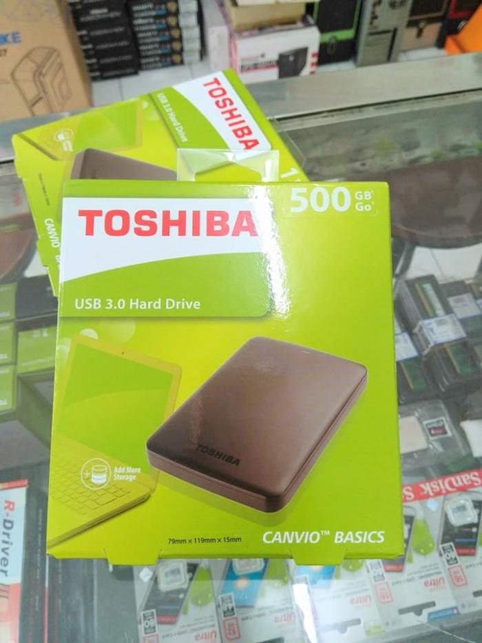 harga Hardisk eksternal hardisk external toshiba 500gb hdd 500gb eksternal Tokopedia.com