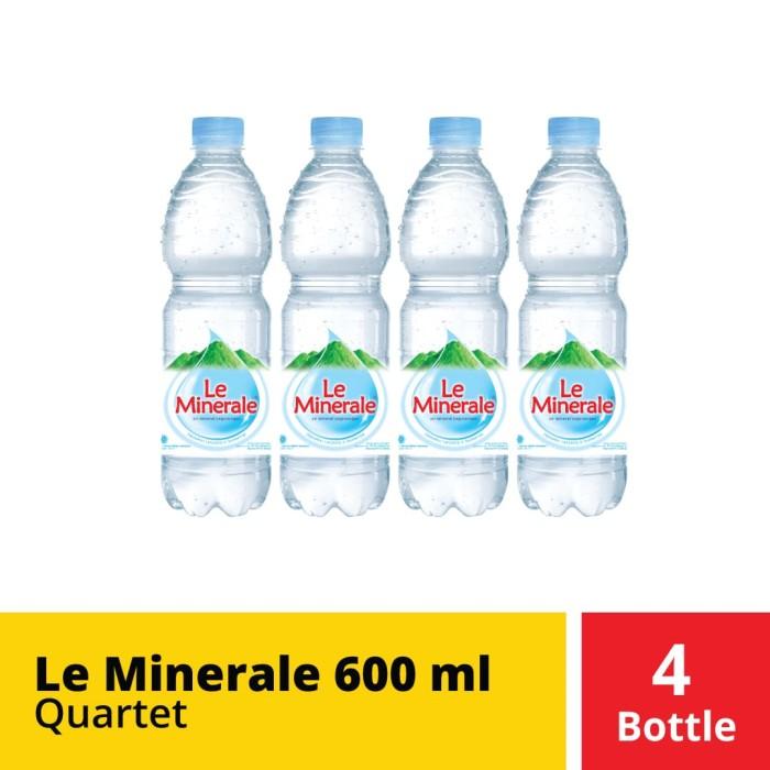Foto Produk Le Minerale 600 ml Quartet dari Mayora Official Store