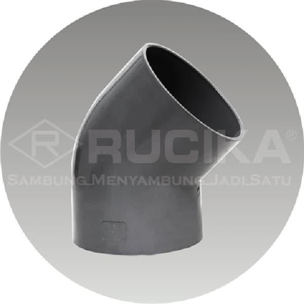Jual Fitting Sambungan Pipa Pvc Rucika Knie 2 Aw 45 45 Elbow Aw Jakarta Timur Tb Sumber Karya Tokopedia