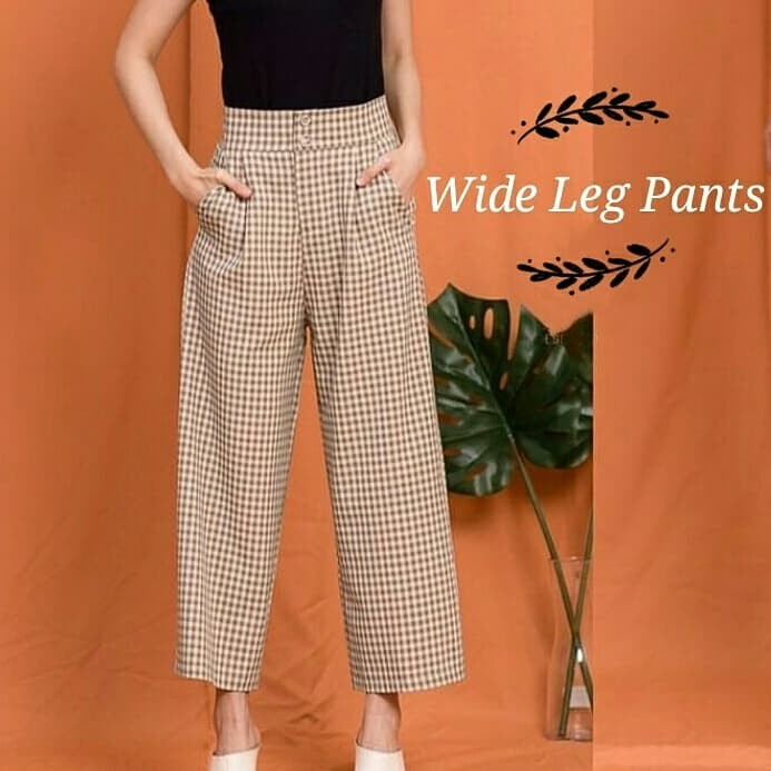 Foto Produk 616 Wide Leg Pants - Creme dari fashion_tnabang