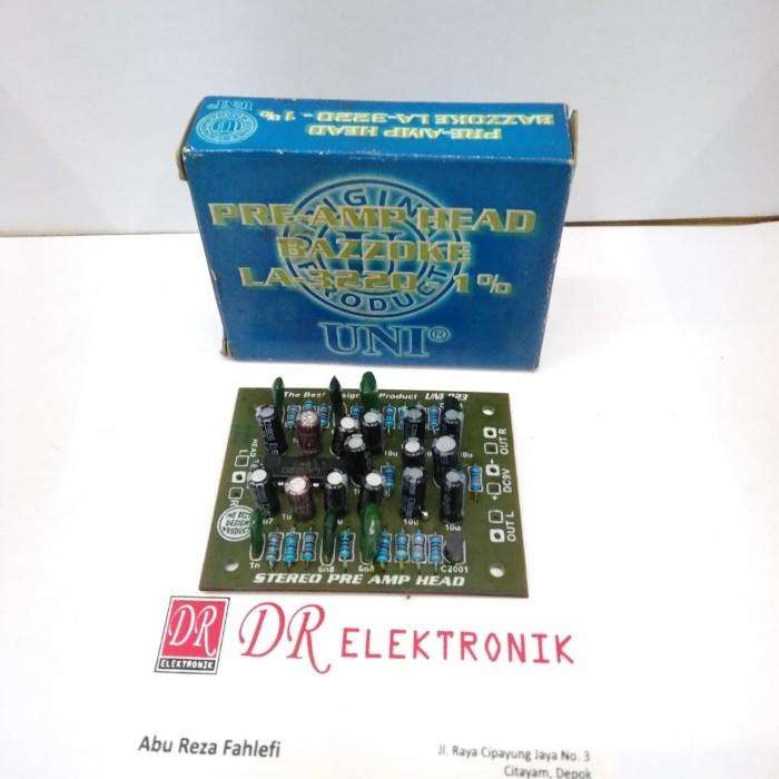 harga Kit power uni preamp pre amp head bazzoke la3220 la 3220 1% Tokopedia.com