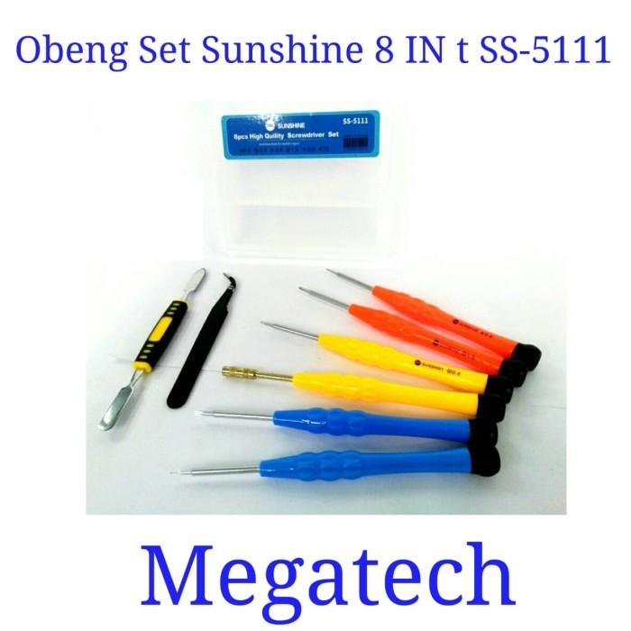 harga Obeng set sunshine 8 in 1 ss-5111 / ss 5111 Tokopedia.com
