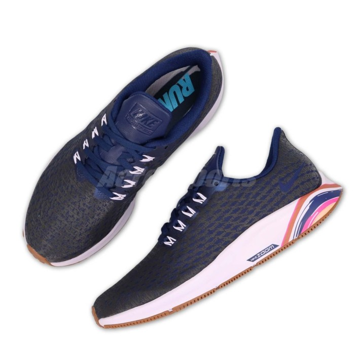 424e1b895495 Jual AH8392 400 Womens Nike Air Zoom Pegasus 35 Special Edition Navy ...