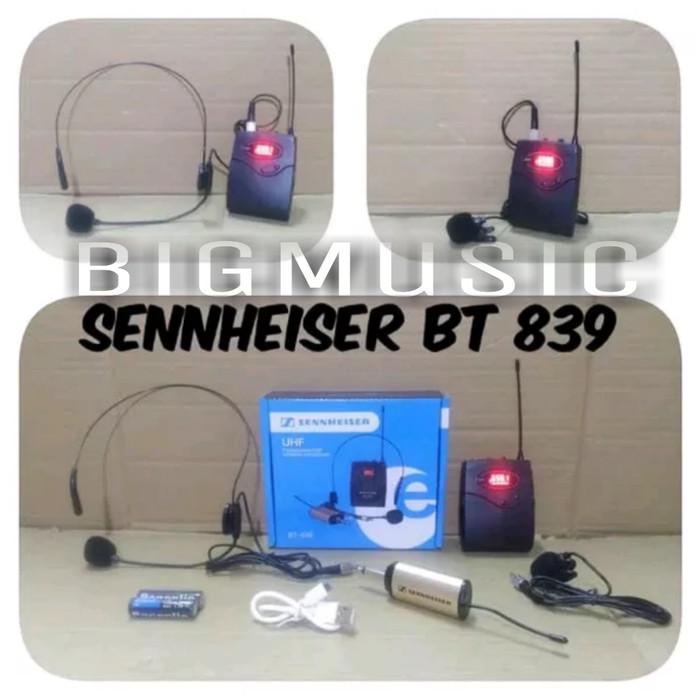 harga Mic wireless sennheiser bt 839 headset - jepit Tokopedia.com
