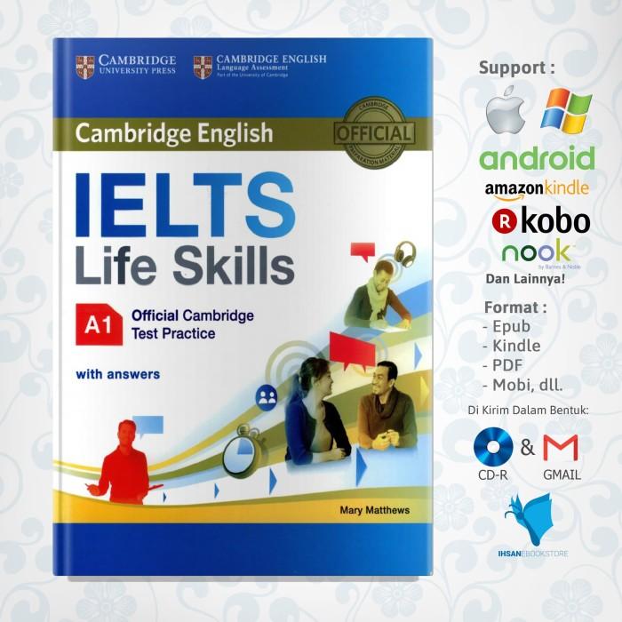 Jual IELTS Life Skills Official Cambridge Test Practice A1 + AUDIO - IHSAN  EBOOK STORE | Tokopedia