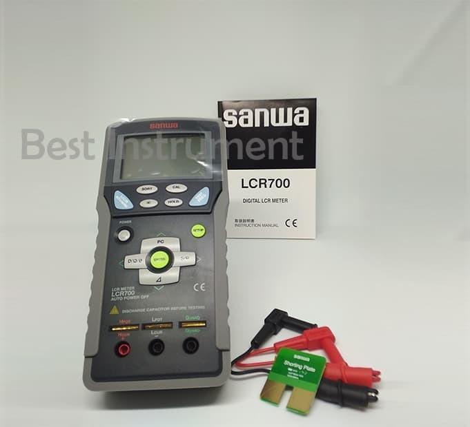 Jual Sanwa LCR700 - SANWA Digital LCR Meter - Kab  Bogor - Best-Klik |  Tokopedia