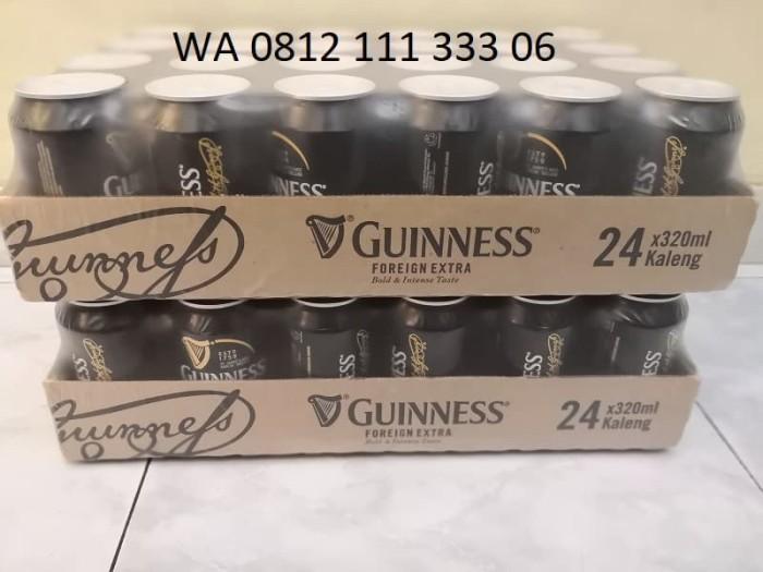harga Bir Guinness Hitam Kaleng 320ml x24 Tokopedia.com