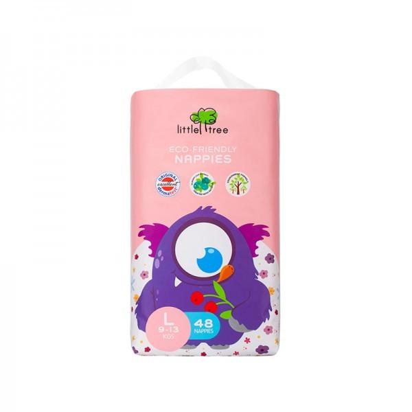harga Little tree nappies monster diapers popok bayi - l 48 Tokopedia.com