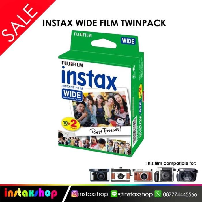 harga Fujifilm instax wide film twin pak Tokopedia.com