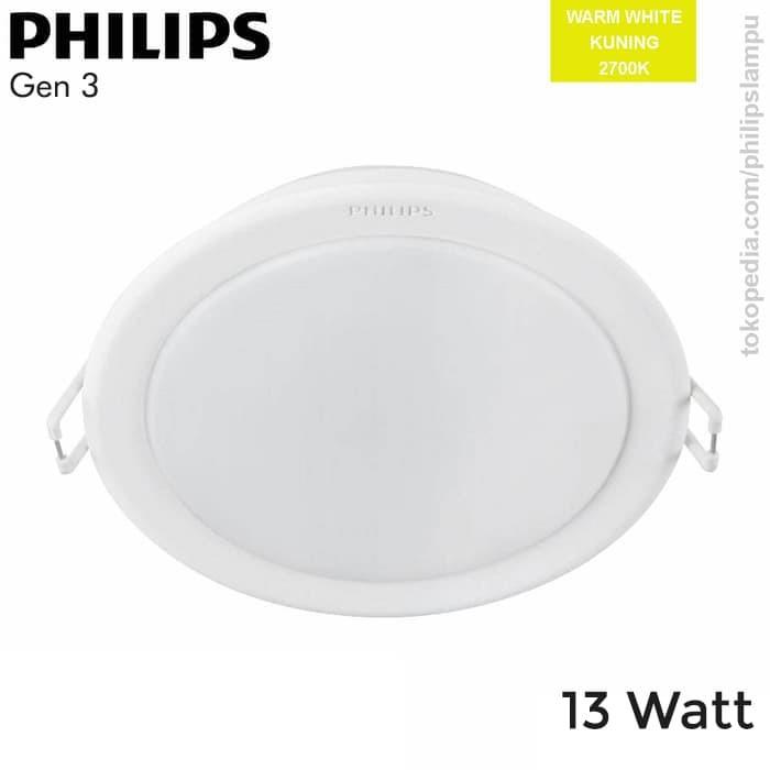 Foto Produk Lampu Downlight LED Philips 59464 Meson Gen 3 13W WarmWhite 13 Watt - Kuning dari philipslampu
