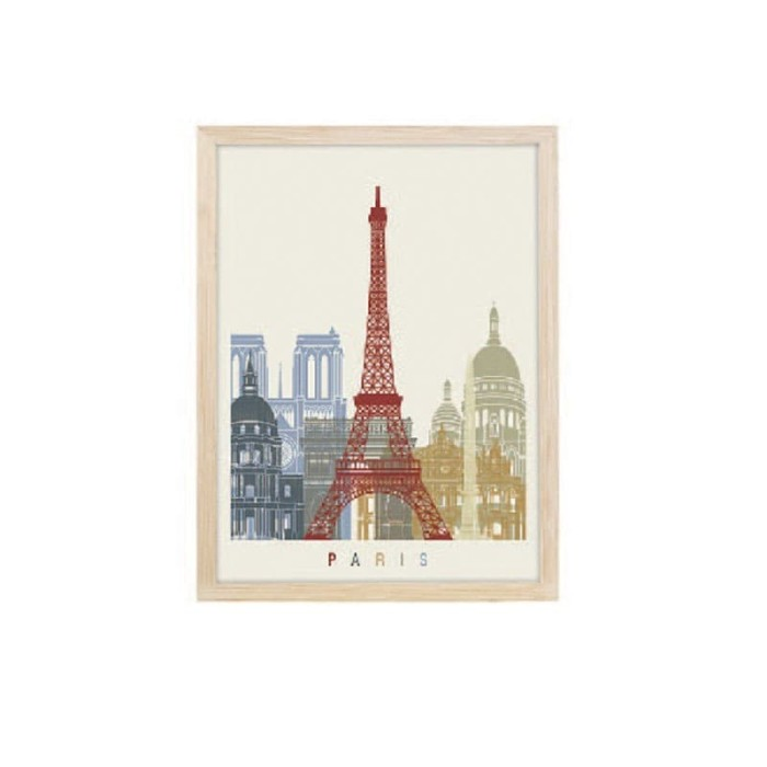 harga Jysk scandia wall decoration 30x40cm paris mdf frame Tokopedia.com