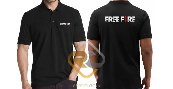 Jual Kaos Polo Shirt Obral Baju Kerah Murah Free Fire Depan Belakang Polos Dki Jakarta Con Jersey Tokopedia