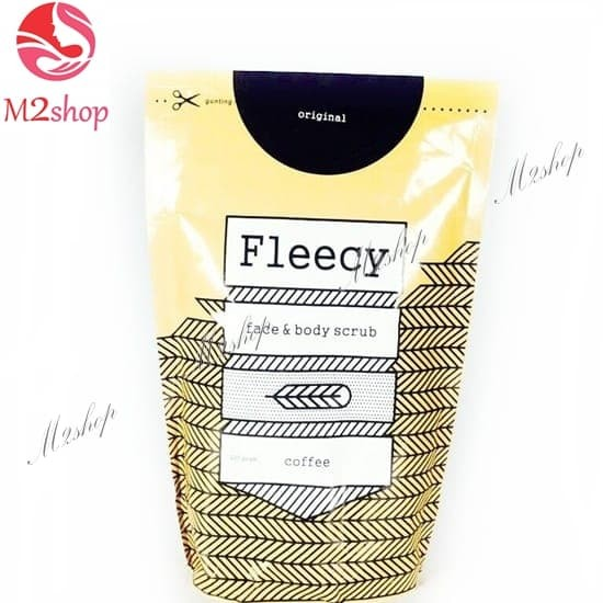 Fleecy coffee scrub / flecy cofe / original product 100%
