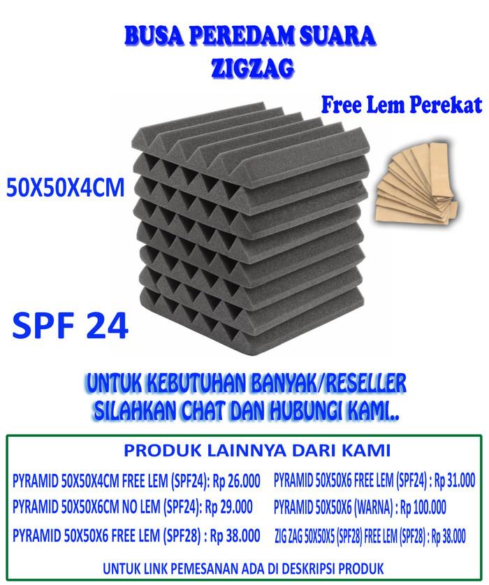 Foto Produk ACCOUSTIC FOAM WEDGE (ZIGZAG) - PEREDAM SUARA STUDIO MUSIK dari Pratama Foam ID