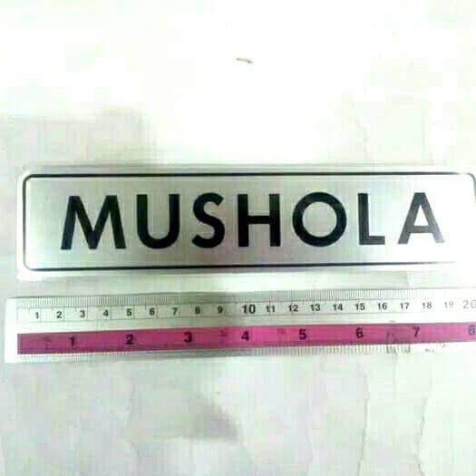 Foto Produk sign board mushola dari rumasa