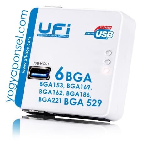 Foto Produk UFI BOX fullset istimewa 6 soket BGA termasuk BGA 221 & 529 dari yogyaponsel