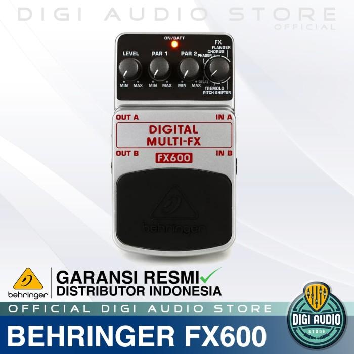 harga Behringer effect pedal fx600 digital multi efek gitar stompbox Tokopedia.com